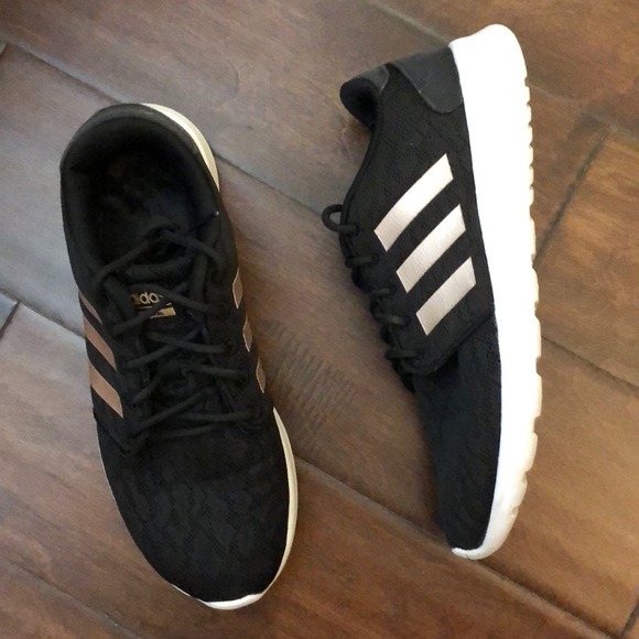 adidas Shoes - Adidas Rose gold Women s black shoes size 8 024836d99